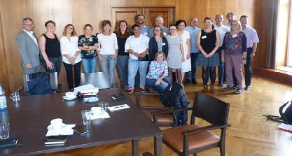 Gruppenbild Final Meeting Phase 1 - September 2018 in Chemnitz